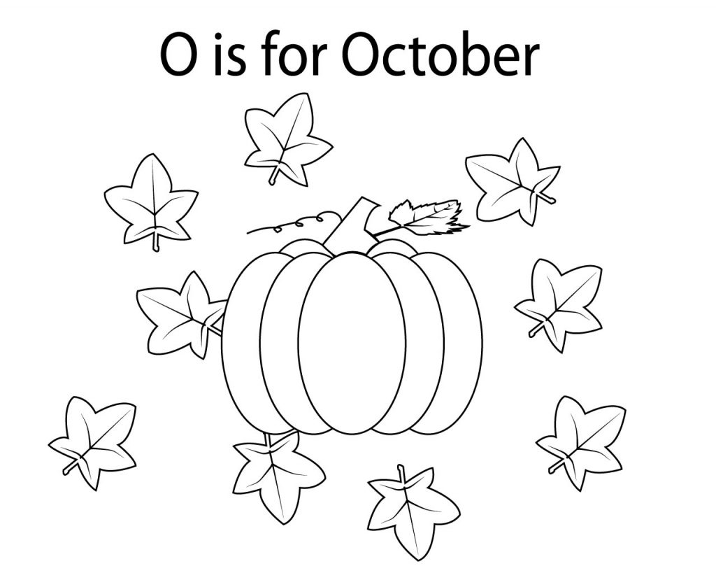 27+ Beautiful Picture of October Coloring Pages ...