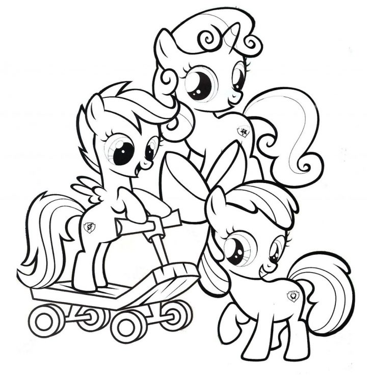 Exclusive Picture of Pony Coloring Page entitlementtrap