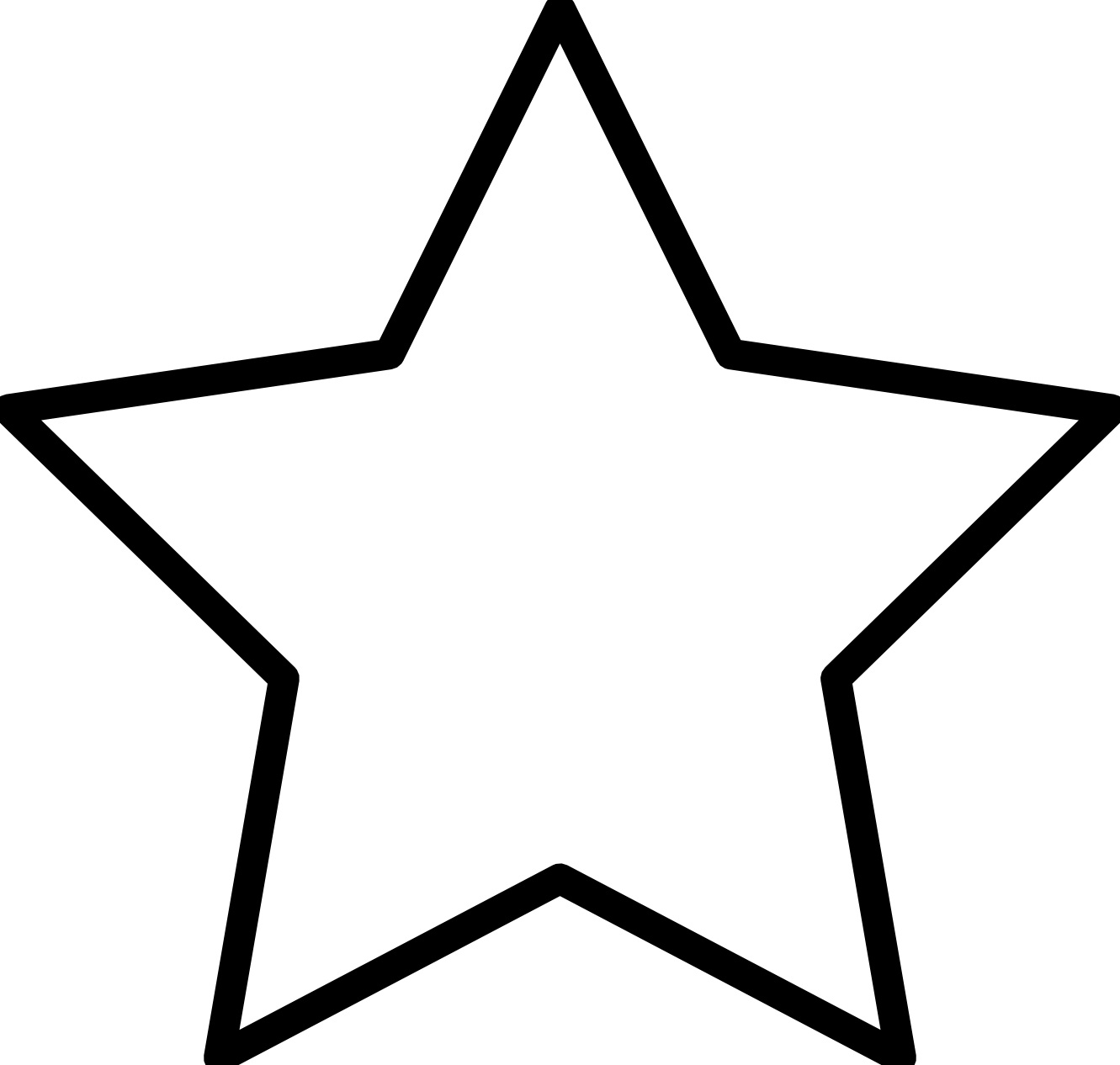 Stars Coloring Pages Free Printable