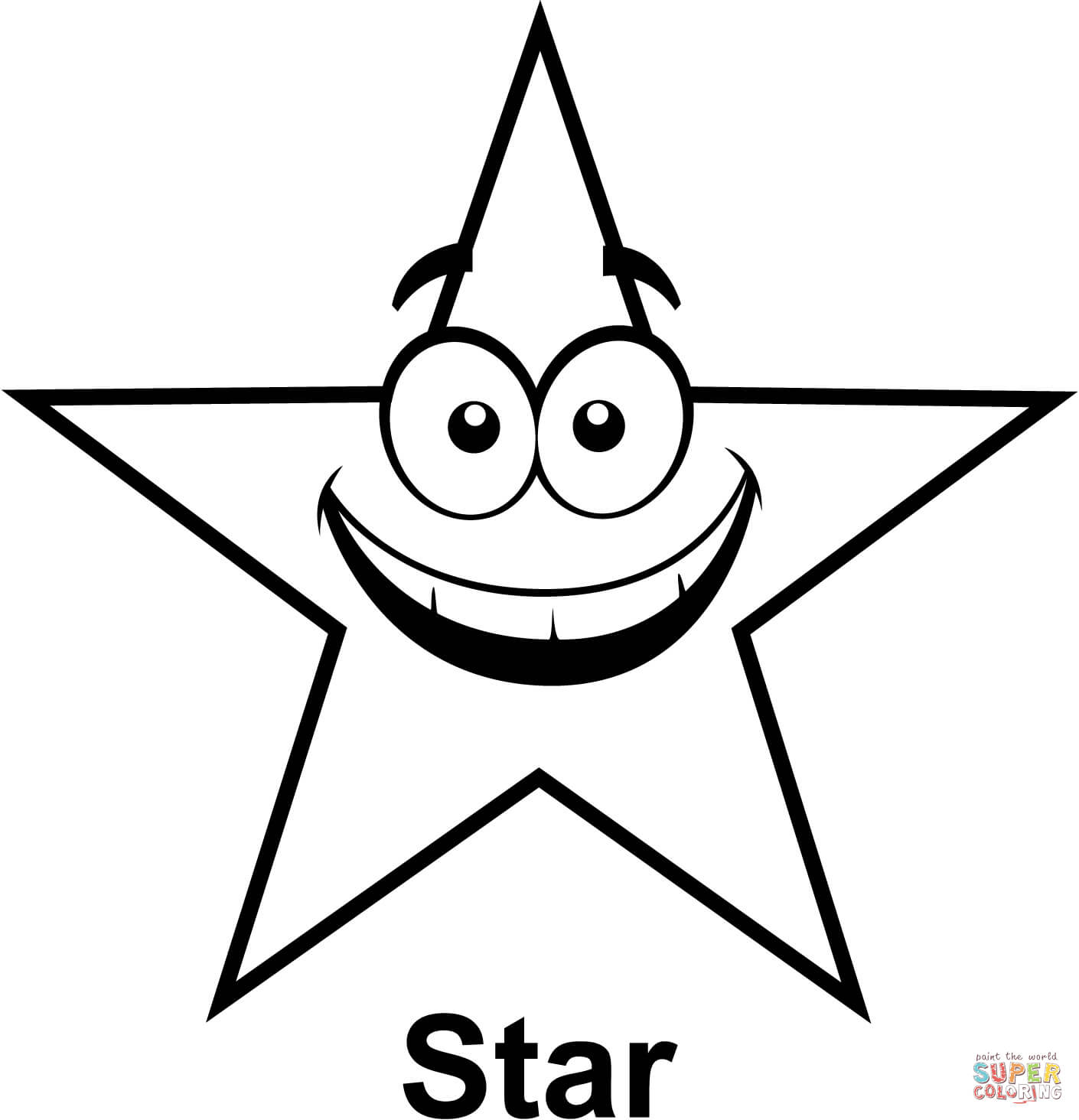 Stars Coloring Pages Star Coloring