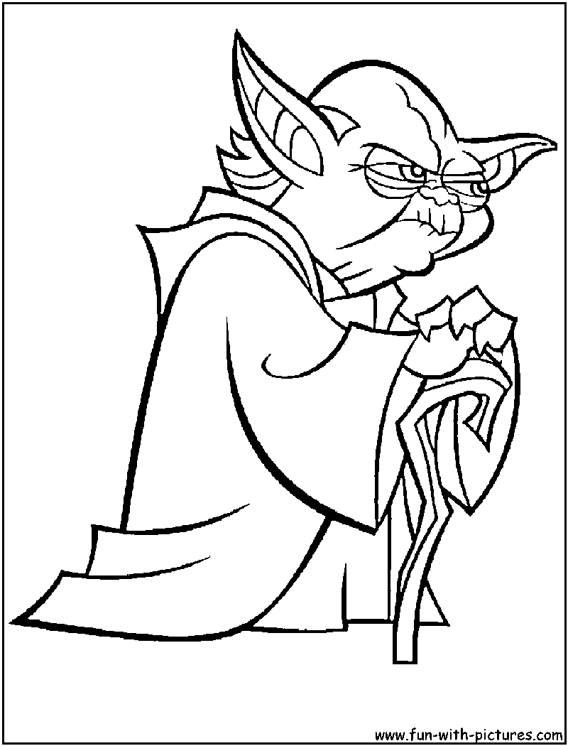 Starwars Coloring Pages Star Wars