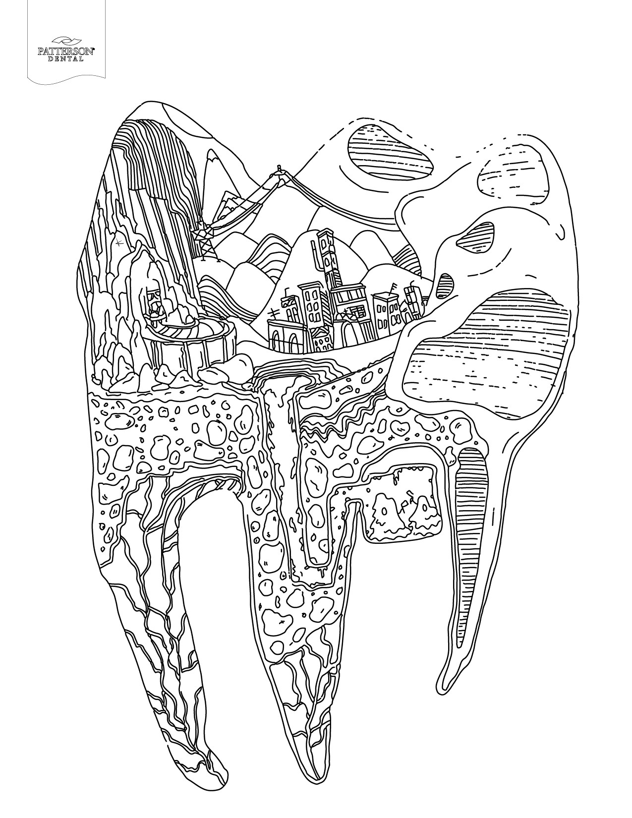 25+ Inspiration Image of Tooth Coloring Pages ...